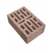 18-щелевой бетонный стеновой пустотелый блок 380x250x140 мм