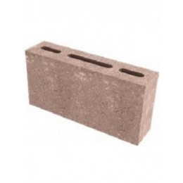 Бетонный перегородочный блок 390x90x190 мм
