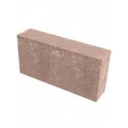 Бетонный перегородочный блок полнотелый 390х90х190 мм
