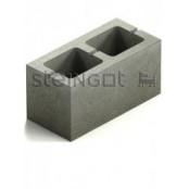 Блок бетонный КСР-ПР-ПС-39-50-F100-1400 390х190х188 мм.