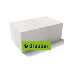 Блок газосиликатный Drauber Д500 600х250х400