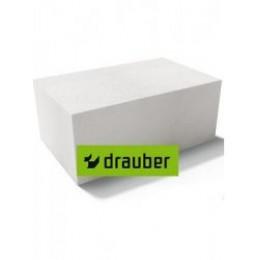 Блок газосиликатный теплоизоляционный Drauber Д400 600х200х300