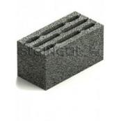 Блок керамзитобетонный КСР-ПР-ПС-39-75-F50-1200 390х190х188 мм.