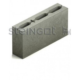 Блок перегородочный бетонный КПР-ПР-ПС-39-100-1800  390х90х188 мм.
