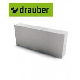 Блок перегородочный газосиликатный  Drauber Д500 600х200х100