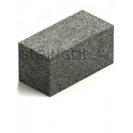 Блок полнотелый керамзитобетонный КСР-ПР-39-100-F50-1650 390х190х188 мм.