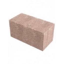 Керамзитобетонный полнотелый блок 390х190х190 мм