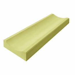 Водосток 500x160x50 желтый