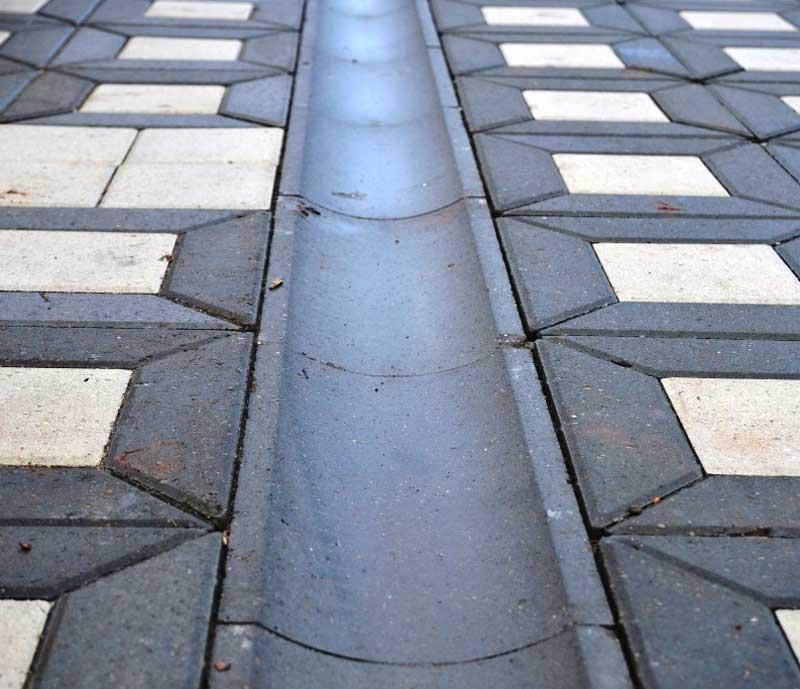 Купить тротуарные бетонные водостоки в Москве